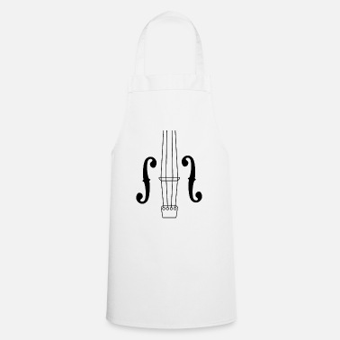 Bass Gift for cellist musician mouth covering - Apron