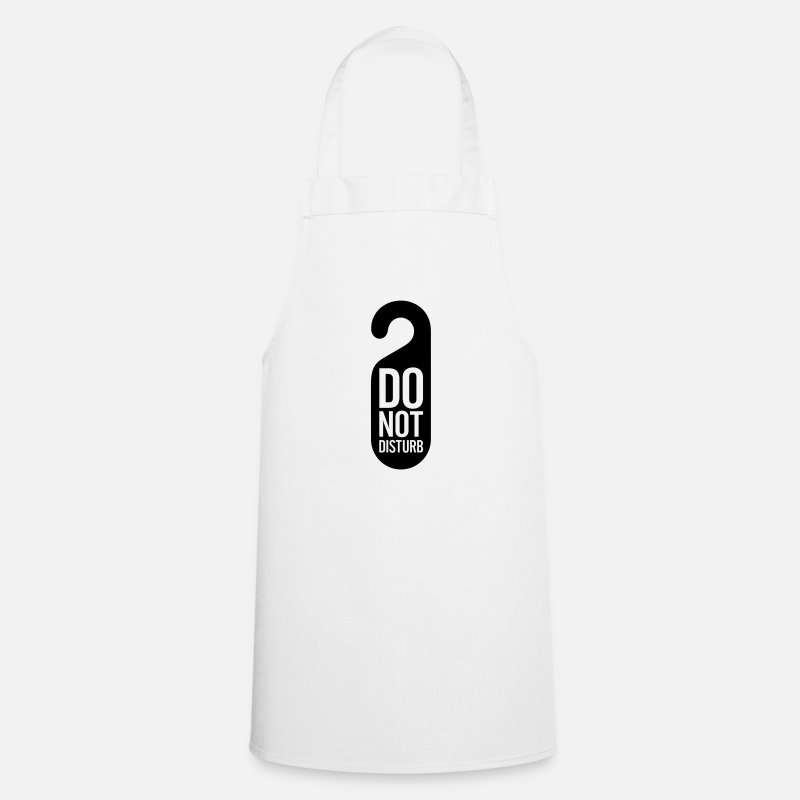 Icon Aprons - Do not disturb! - Apron white