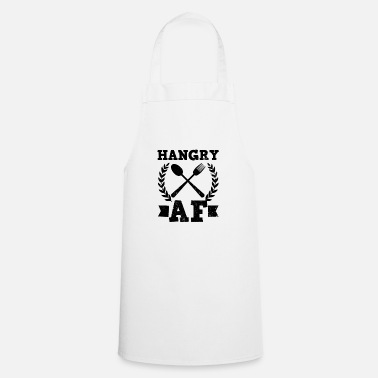 Im With Stupid Im Hungry Hangry AF Gift - Cooking Apron