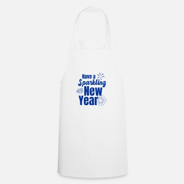 New Years Eve New Years Eve Sparkling New Year Gift - Apron