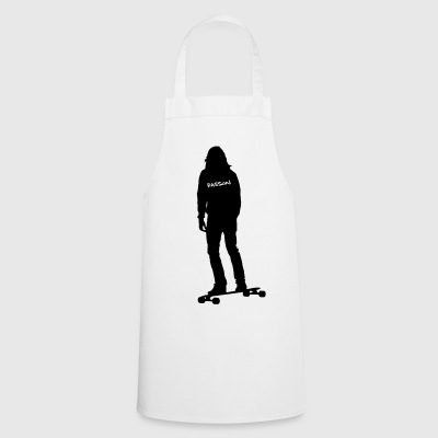 Passion Longboard. (Motif color changeable!) - Cooking Apron