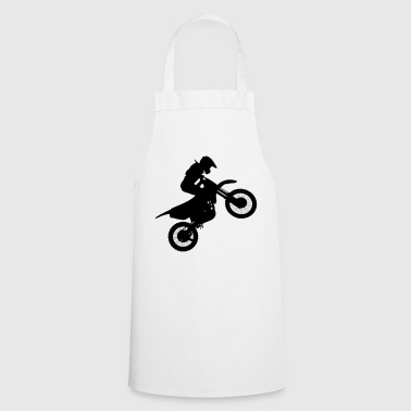 Motocross stunt - Cooking Apron