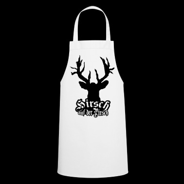 Deer on the stalking cult - Cooking Apron