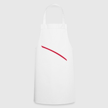 Red line - Cooking Apron
