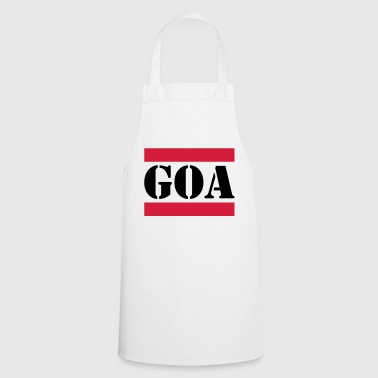 Goa with red lines - Cooking Apron