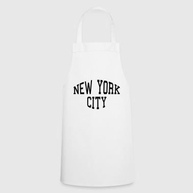 New York City lettering - Cooking Apron