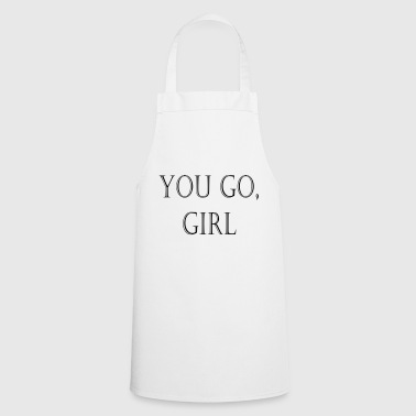 YouGoGirl - Cooking Apron