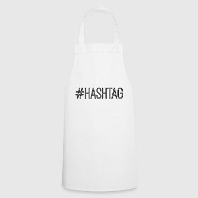 #hashtag - Cooking Apron