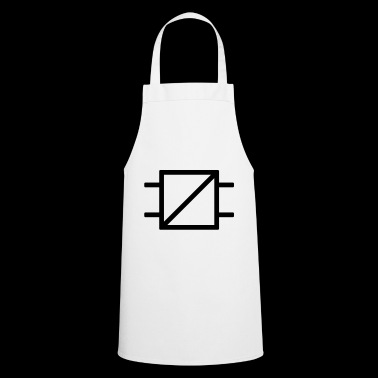 Construction symbol heat exchanger - Cooking Apron