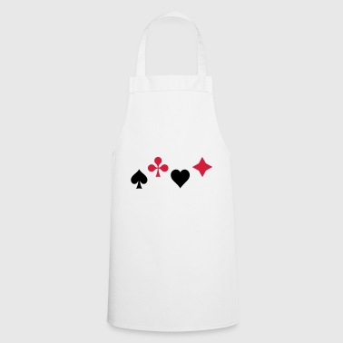 Spades Ass Heart Poker Blackjack Symbol Cards Casino - Cooking Apron