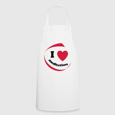 I love meditation - Cooking Apron