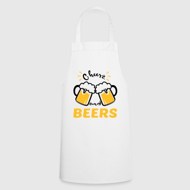 cheers and beers - Cooking Apron