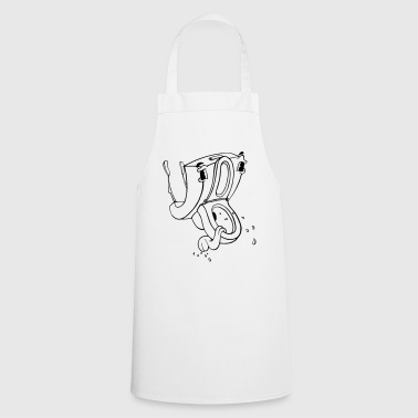 Crazy Toilet - Cooking Apron