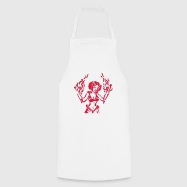 Tabliers rpg commander en ligne spreadshirt - Tablier cuisine fantaisie ...