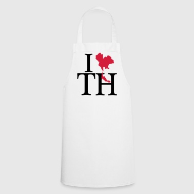 I love TH - I love Thailand - Cooking Apron