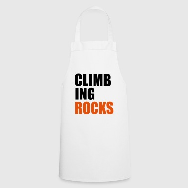 2541614 15944330 climbing - Cooking Apron