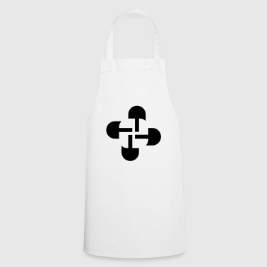 Round Swastika Key Design! - Cooking Apron