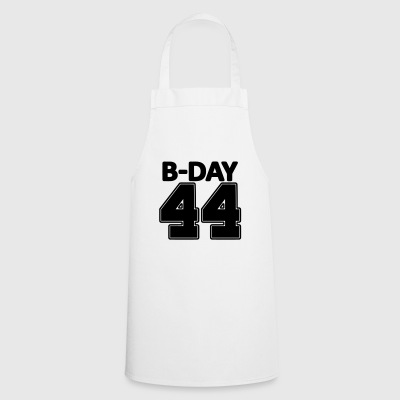44 years number number 44th birthday numbers jersey - Cooking Apron