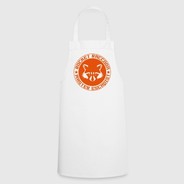 Rocket raccoon logo full - Tablier de cuisine