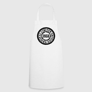 LimitedVintageBirthday58 1 - Cooking Apron