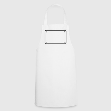 Shield frame - Cooking Apron