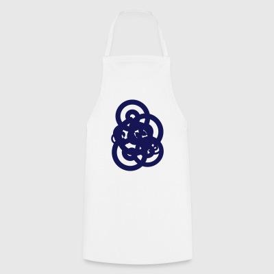 Pedir en l nea espiral delantales spreadshirt - Cocinas azul tierra ...