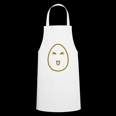Egg Face Happy - Cooking Apron