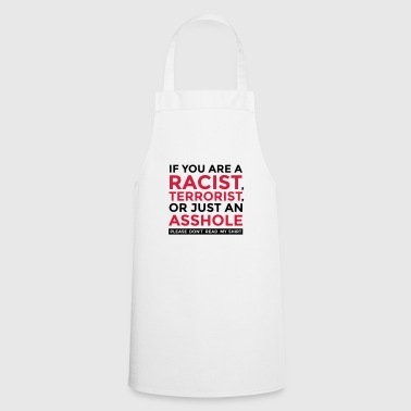 Do not be an idiot! - Cooking Apron
