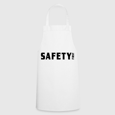 Safety First | Security | security - Cooking Apron