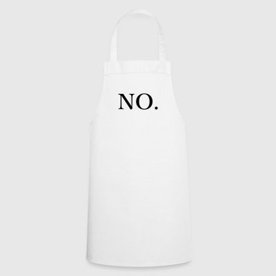 no - Cooking Apron