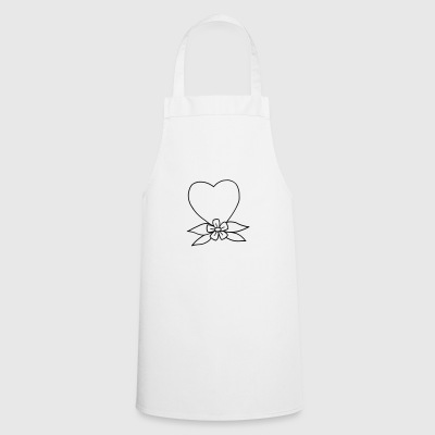 Heart traditional - Cooking Apron