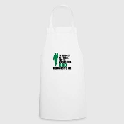 World's best dad fathers day - Cooking Apron