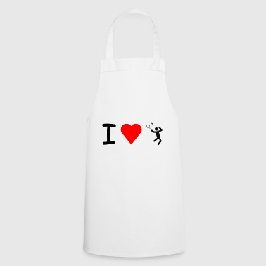 I love badminton - Cooking Apron