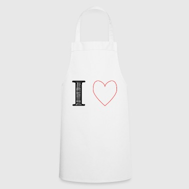 i love stars - Cooking Apron