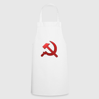 hammer and sickle russia - Cooking Apron