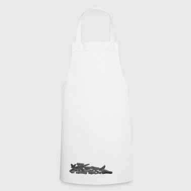 sate gray above front - Cooking Apron