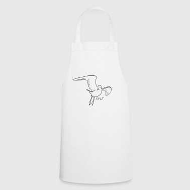 Gull Sylt bird North Sea gift - Cooking Apron