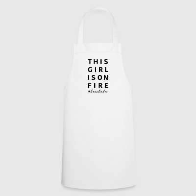 This girl is on fire #bossbabe | Animal Fashion - Cooking Apron