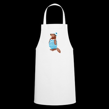 beaver biber rodent rodents wood water12 - Cooking Apron