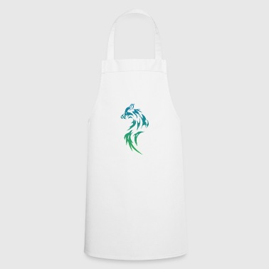 Wolf Tribal - Cooking Apron
