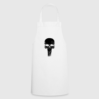 Skull long - Cooking Apron
