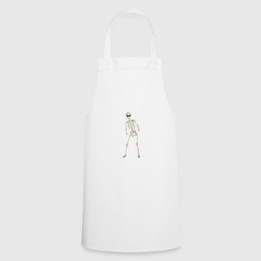 Fresh To Death cool skeleton - Cooking Apron