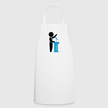 A Politician Speaks To His Constituents - Cooking Apron