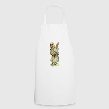 The little angel with bouquet - Cooking Apron