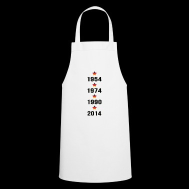 Football Germany black red gold world champion - Cooking Apron