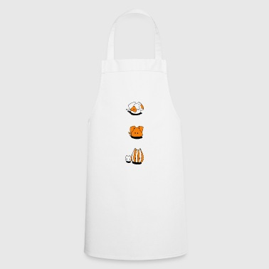 Two dogs and two cats - Cooking Apron