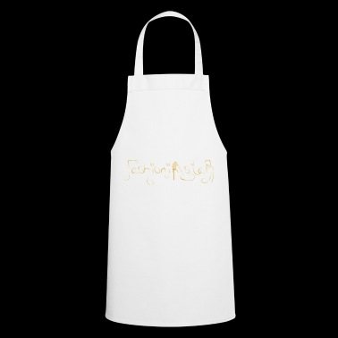 Fashioninsta - gold - Cooking Apron