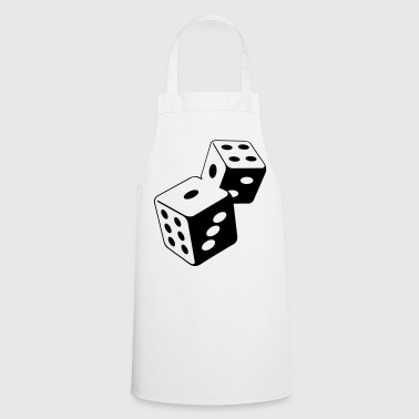 Two dice at the casino - Cooking Apron