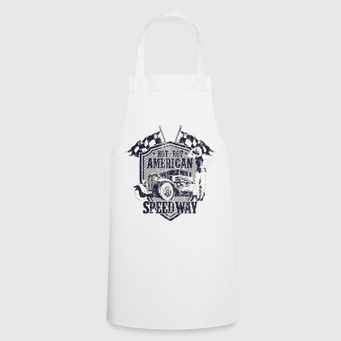 SPEEDWAY AMERICAN HOTRODS - Hot Rod Gift - Cooking Apron