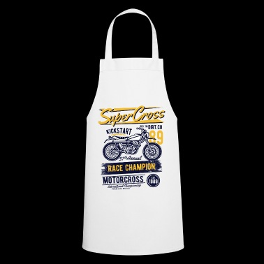 MOTOR CROSS - Motorcycle Bike and Motor Cross Shirt - Cooking Apron